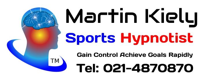 Martin Kiely Sports Hypnotist Cork, Ireland Tel:021-4870870