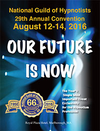 National Guild of Hypnotists Convention 2016 - Our Future is now